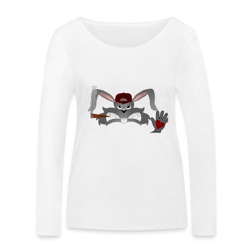 Hallo How are you - Økologisk Stanley & Stella langærmet T-shirt til damer