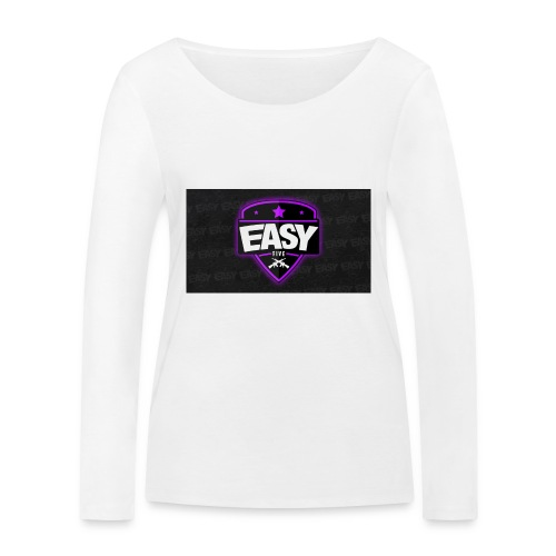Team EasyFive muki - Stanley & Stellan naisten pitkähihainen luomupaita