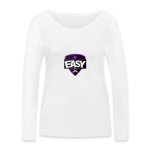 Team EasyFive snäpäri - Stanley & Stellan naisten pitkähihainen luomupaita