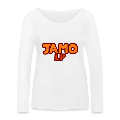JAMOLP Logo T-shirt - Økologisk Stanley & Stella langærmet T-shirt til damer