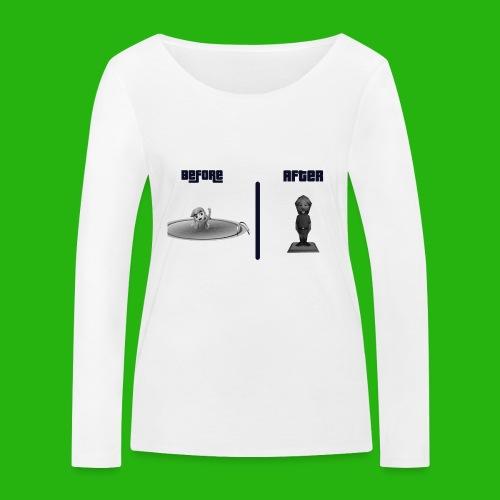 Ben Drowned - Women's Organic Longsleeve Shirt by Stanley & Stella