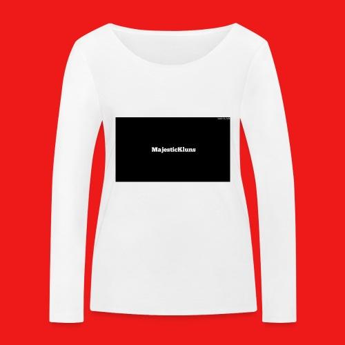 New - Økologisk Stanley & Stella langærmet T-shirt til damer