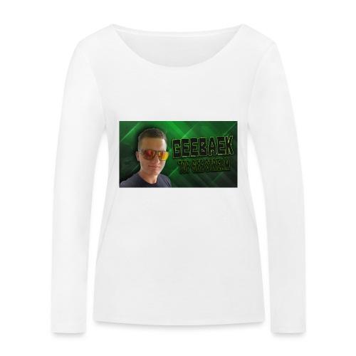 Geebaek - Økologisk Stanley & Stella langærmet T-shirt til damer