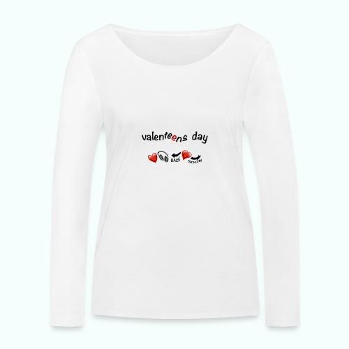 valenteens day - Frauen Bio-Langarmshirt von Stanley & Stella