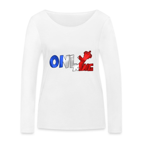 Logo ONLY KING edition francaise - T-shirt manches longues bio Stanley & Stella Femme