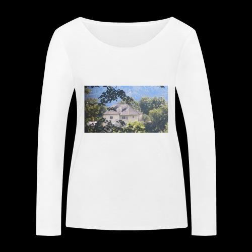 Altes Haus Vintage - Frauen Bio-Langarmshirt von Stanley & Stella