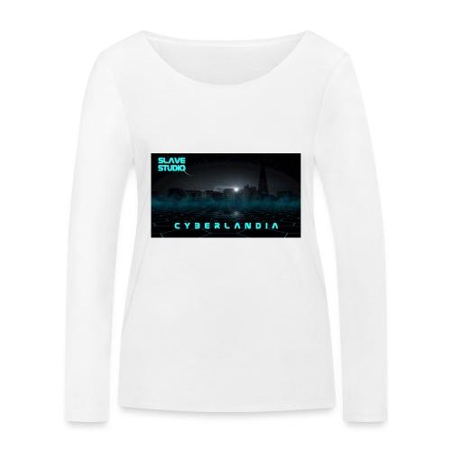 Cyberlandia - Maglietta a manica lunga ecologica da donna di Stanley & Stella