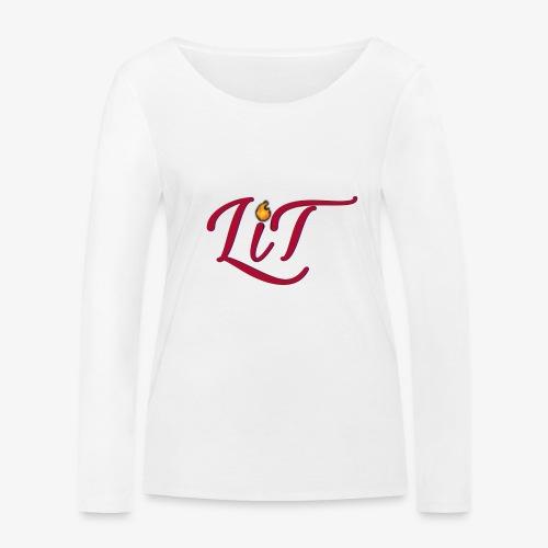 LiT CO Logo #1 - Women's Organic Longsleeve Shirt by Stanley & Stella