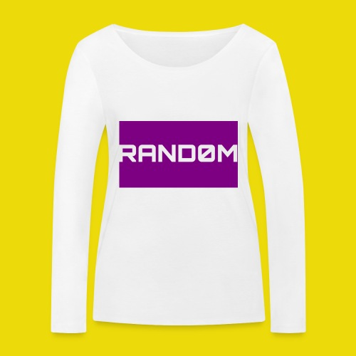 Random Logo - Women's Organic Longsleeve Shirt by Stanley & Stella