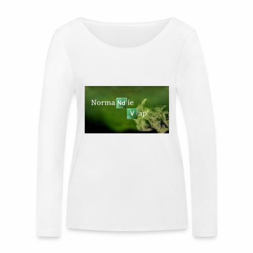Normandie Vap' - T-shirt manches longues bio Stanley & Stella Femme