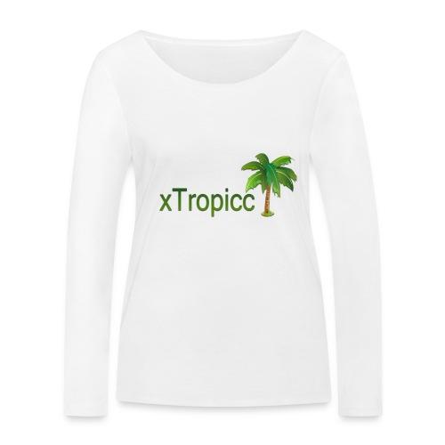 tropicc - T-shirt manches longues bio Stanley & Stella Femme