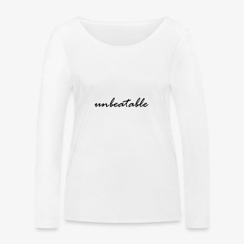 unbeatable - Frauen Bio-Langarmshirt von Stanley & Stella