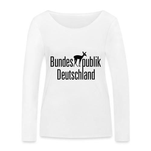 BundesREHpublik_D - Frauen Bio-Langarmshirt von Stanley & Stella