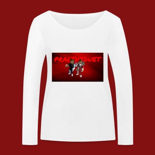Pral - Ekologisk långärmad T-shirt dam från Stanley & Stella