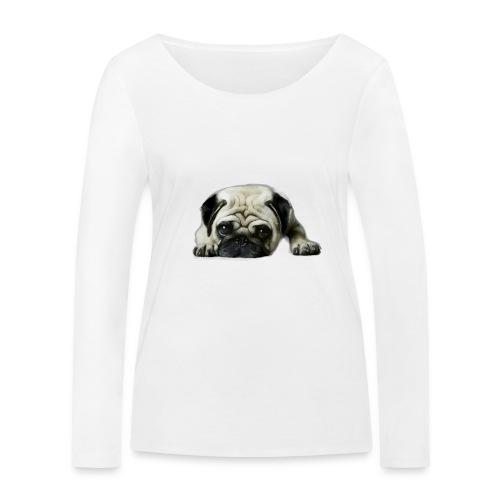 Cute pugs - Camiseta de manga larga ecológica mujer de Stanley & Stella