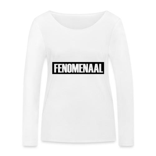 FENOMENAAL - Vrouwen bio shirt met lange mouwen van Stanley & Stella