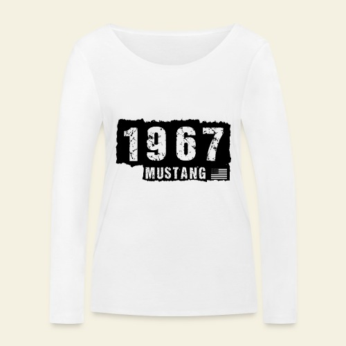 1967 - Økologisk Stanley & Stella langærmet T-shirt til damer