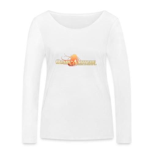 logo oa v3 v1 fond clair - T-shirt manches longues bio Stanley & Stella Femme