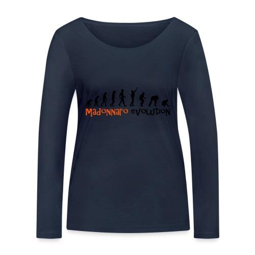 madonnaro evolution original - Women's Organic Longsleeve Shirt by Stanley & Stella