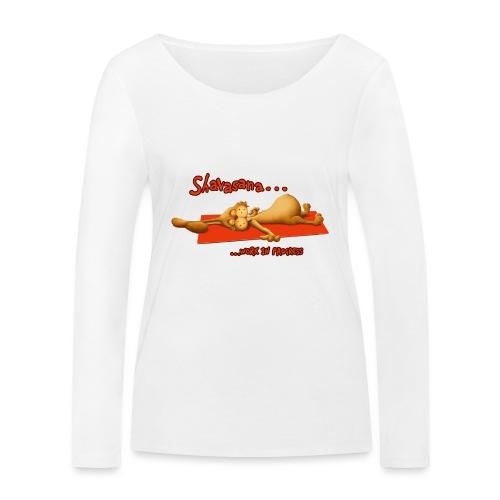 Time for Shavasana - Frauen Bio-Langarmshirt von Stanley & Stella