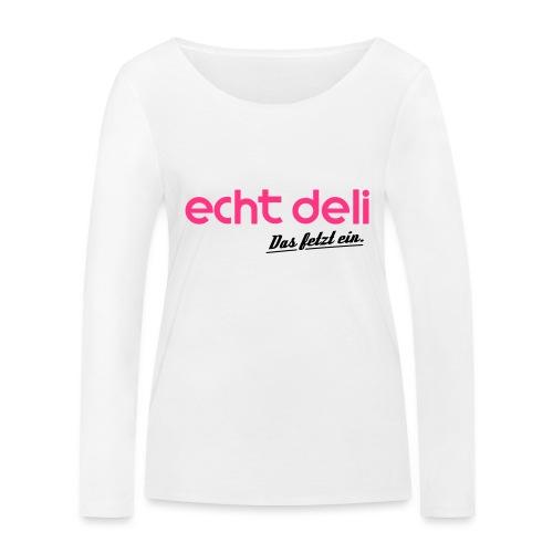 echtdelikat - Frauen Bio-Langarmshirt von Stanley & Stella
