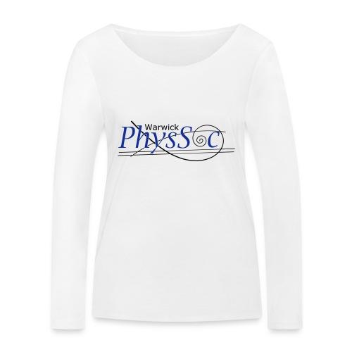 Official Warwick PhysSoc T Shirt - Women's Organic Longsleeve Shirt by Stanley & Stella