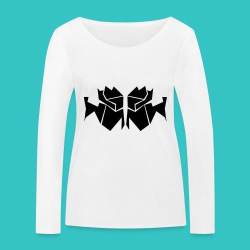 TrogArtZ Shirt - Frauen Bio-Langarmshirt von Stanley & Stella