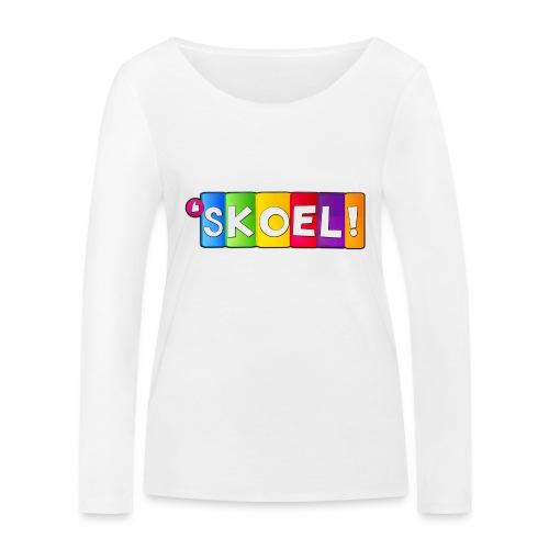 SKOEL merchandise - Vrouwen bio shirt met lange mouwen van Stanley & Stella