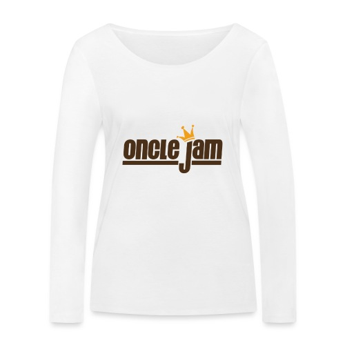Oncle Jam horizontal brun - T-shirt manches longues bio Stanley & Stella Femme