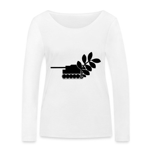 Global Campaign on Military Spending - Logo gray - Women's Organic Longsleeve Shirt by Stanley & Stella