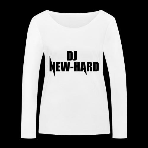 DJ NEW-HARD LOGO - Vrouwen bio shirt met lange mouwen van Stanley & Stella