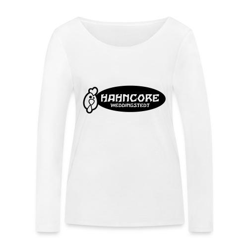 hahncore_sw_nur - Frauen Bio-Langarmshirt von Stanley & Stella