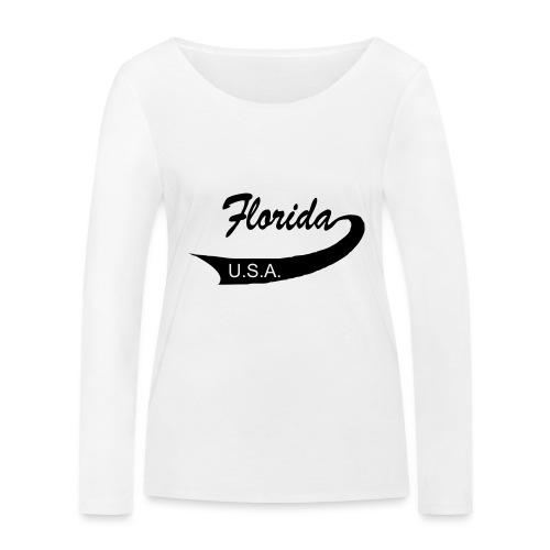 Florida USA - Frauen Bio-Langarmshirt von Stanley & Stella