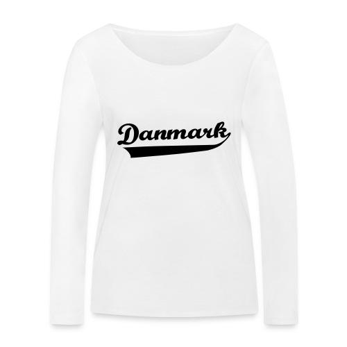 Danmark Swish - Økologisk Stanley & Stella langærmet T-shirt til damer