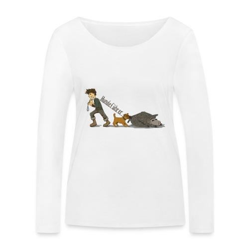 Hundeführer - Frauen Bio-Langarmshirt von Stanley & Stella