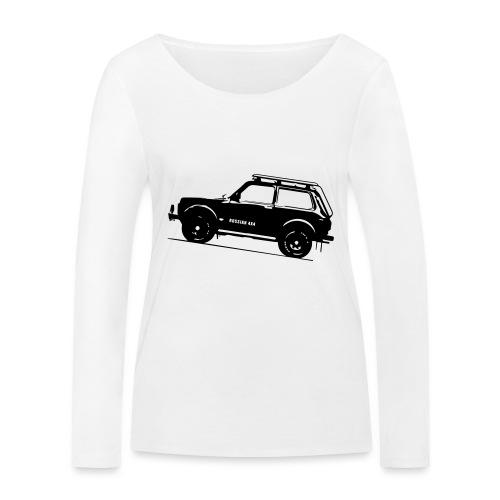 Lada Niva 2121 Russin 4x4 - Frauen Bio-Langarmshirt von Stanley & Stella