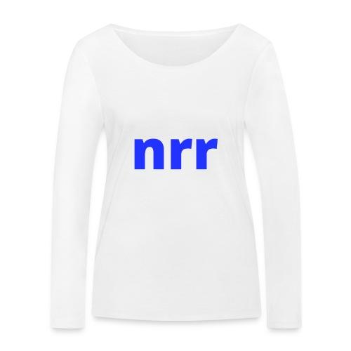 NEARER logo - Women's Organic Longsleeve Shirt by Stanley & Stella