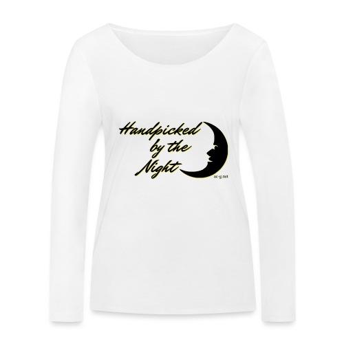 Handpicked design By The Night - Logo Black - Women's Organic Longsleeve Shirt by Stanley & Stella