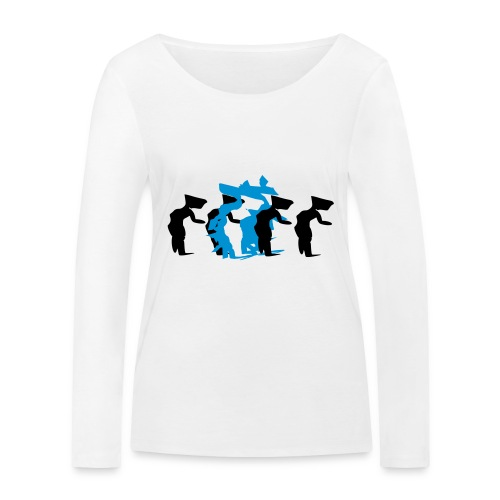 through - Women's Organic Longsleeve Shirt by Stanley & Stella