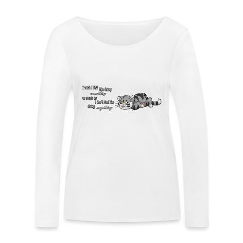 I Wish I Felt Like... (Horizontal) - Ekologiczna koszulka damska z długim rękawem Stanley & Stella