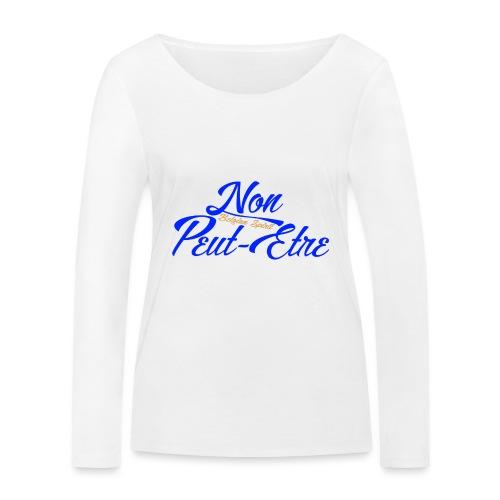 BELGIAN-NONPEUTETRE - T-shirt manches longues bio Stanley & Stella Femme