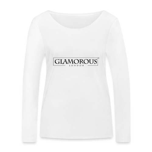 Glamorous London LOGO - Women's Organic Longsleeve Shirt by Stanley & Stella