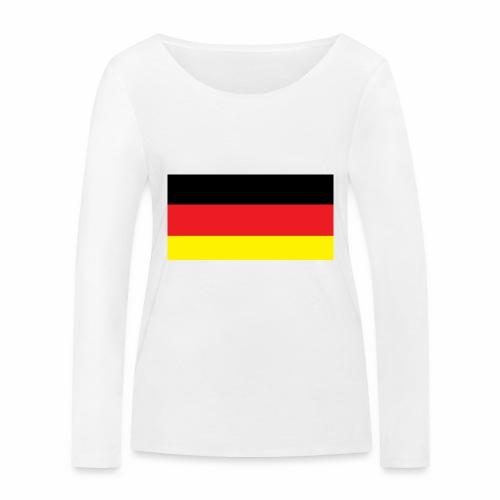 Deutschland Weltmeisterschaft Fußball - Frauen Bio-Langarmshirt von Stanley & Stella