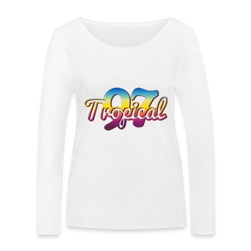 97 TROPICAL FAMILY - T-shirt manches longues bio Stanley & Stella Femme