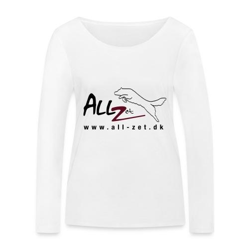 All Zet Logo - Økologisk Stanley & Stella langærmet T-shirt til damer