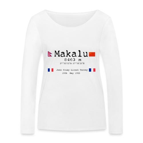 Makalublack - Maglietta a manica lunga ecologica da donna di Stanley & Stella