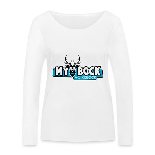 MYBOCK Logo - Frauen Bio-Langarmshirt von Stanley & Stella