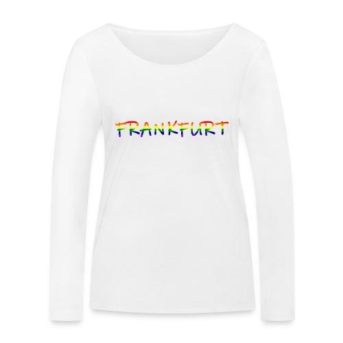 Frankfurt Rainbow #1 - Frauen Bio-Langarmshirt von Stanley & Stella