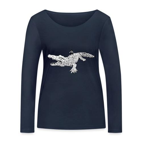 JUANCHO RIDES AGAIN MASTER - Women's Organic Longsleeve Shirt by Stanley & Stella