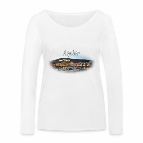 Agadir, Morocco - T-shirt manches longues bio Stanley & Stella Femme